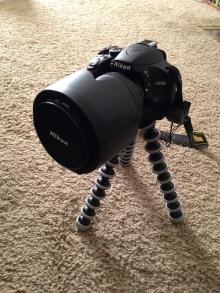My camera on my GorillaPod